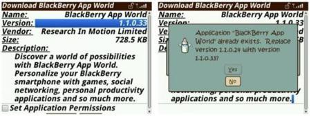 BlackBerry App World se actualiza y no termina de despegar