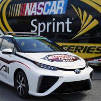 """Toyota Mirai, el primer """"pace car"""" de la NASCAR a hidrógeno"""