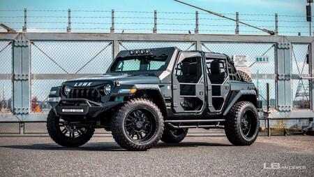 LB-Works Fairline, el Jeep Wrangler se luce con todo el estilo del famoso tuner japonés, Liberty Walk