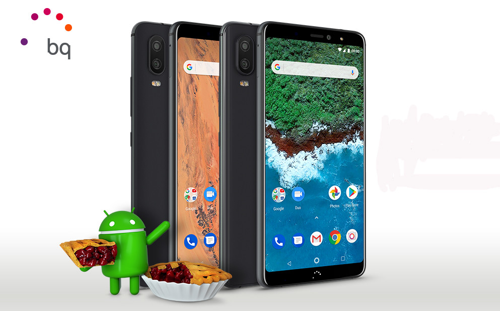 BQ launches beta Android 9 Foot for models Aquaris X2 Pro and Aquaris X2