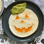 Quesadillas calabaza de Halloween con guacamole: receta fácil y divertida para una fiesta en casa
