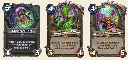 Cartas Hearthstone Boomsday