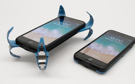 """Adiós a temer por la vida de nuestro móvil: diseñan una carcasa """"airbag"""" que detecta cuando cae al suelo"""