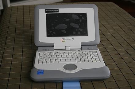 Classmate PC mostrado