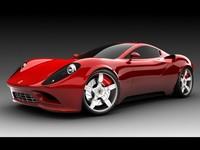 El futuro Ferrari Dino, interpretado por Ugur Sahin