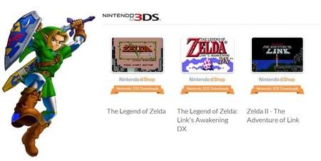 Descuentos en la eShop en juegos de Zelda
