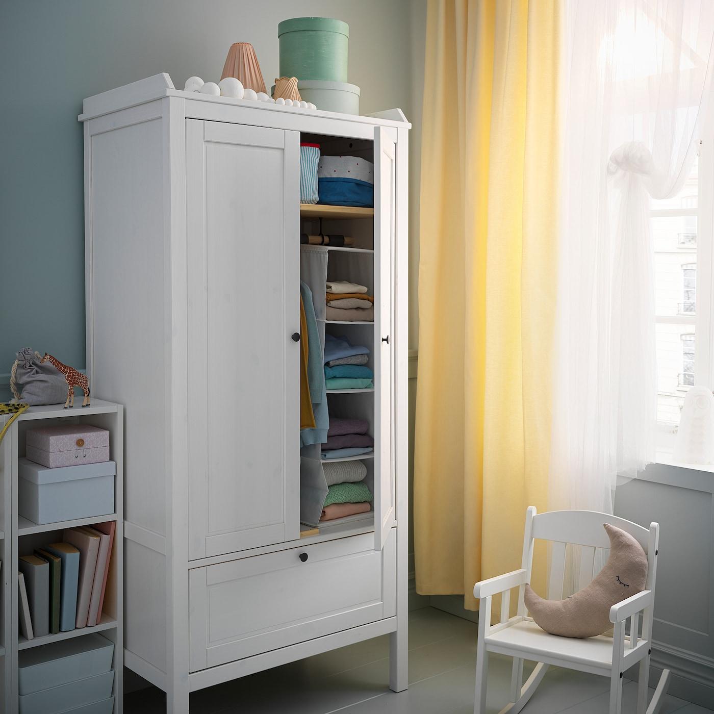 SUNDVIK Armario, blanco, 80x50x171 cm