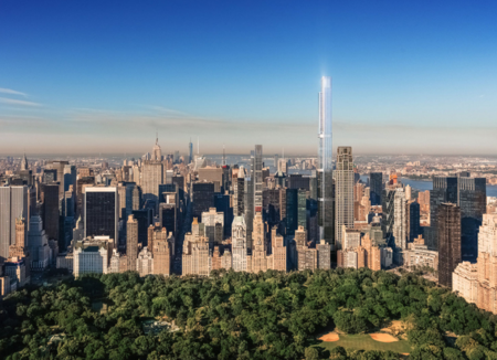 No podía estar en otro lugar: el edificio residencial más alto del mundo estará en Nueva York
