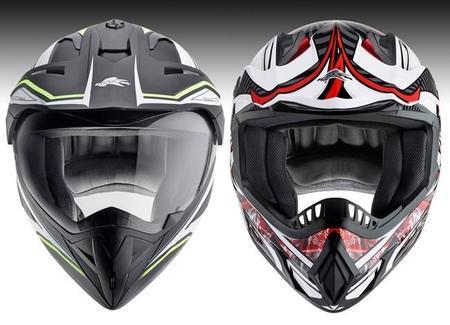 Nuevos cascos de off road de Kappa para trail y motocross