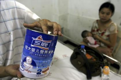 La leche adulterada y la deficiente lactancia materna en China
