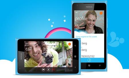 Skype en Windows Phone