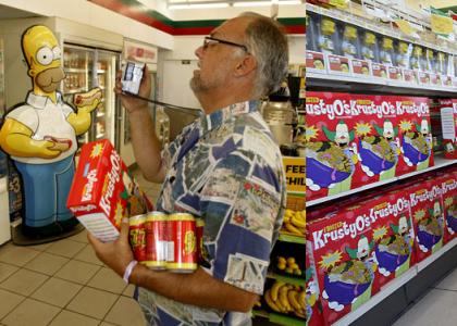 Abierto el supermercado de Los Simpsons