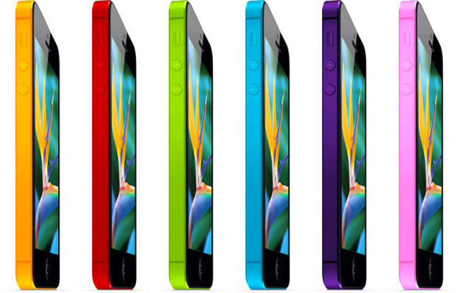 iPhone 5 de colores