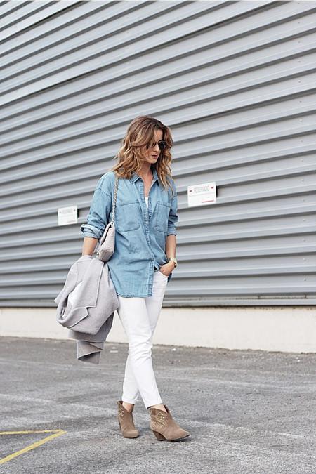 W Grey Coat Denim Shirt 05 768x1152