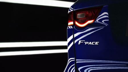 Jaguar F-Pace, para el Salón de Frankfurt
