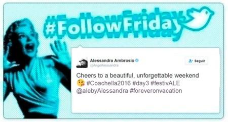 #FollowFriday de Poprosa: Coachella acapara todas las fotos de las redes sociales