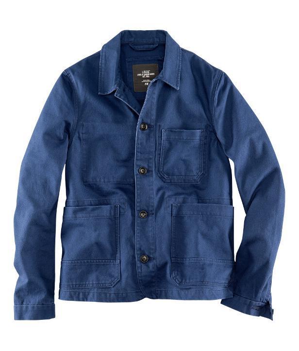 chaqueta azul H&M Primavera 2013