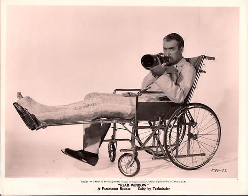 La fotografía en el cine: 'La ventana indiscreta'