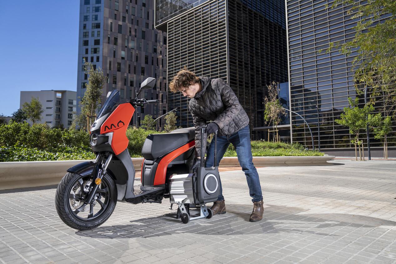 Foto de SEAT MÓ eScooter 125 2021 (8/10)