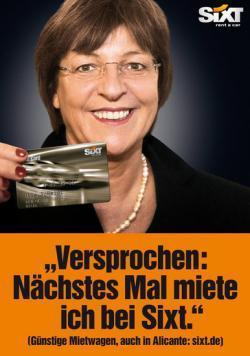 Le roban el coche oficial a una ministra alemana en España