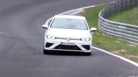 Volkswagen Golf R, en Nürburgring