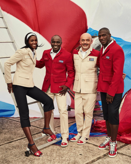 De la pobreza al lujo, así está cambiando Cuba: Su uniforme olímpico lo ha diseñado Christian Louboutin