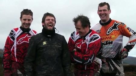De enduro y risas en la Isla de Man
