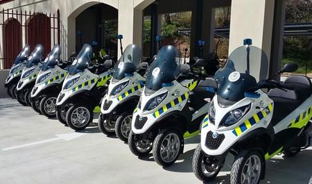 Los Agentes de Movilidad de Madrid irán en triciclo, modernizando su flota con 27 Piaggio Mp3 300
