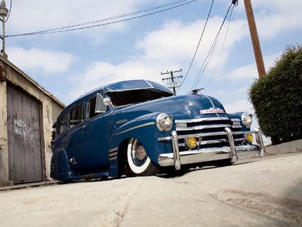 1951 Chevy Suburban: mira que bien se cuida el abuelo del HHR