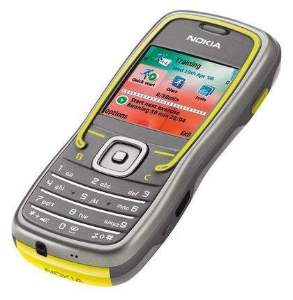 Nokia 5500, teléfono para deportistas