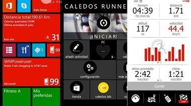 Caledos Runner, un gran compañero de running en Windows Phone. La aplicación de la semana