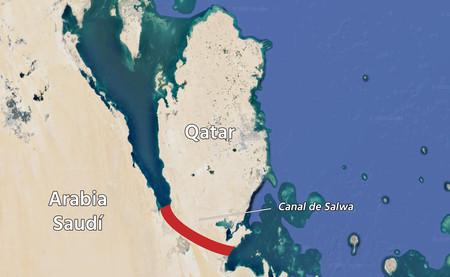 Arabia Saudí detesta tanto a Qatar que va a construir un canal para convertirlo en una isla