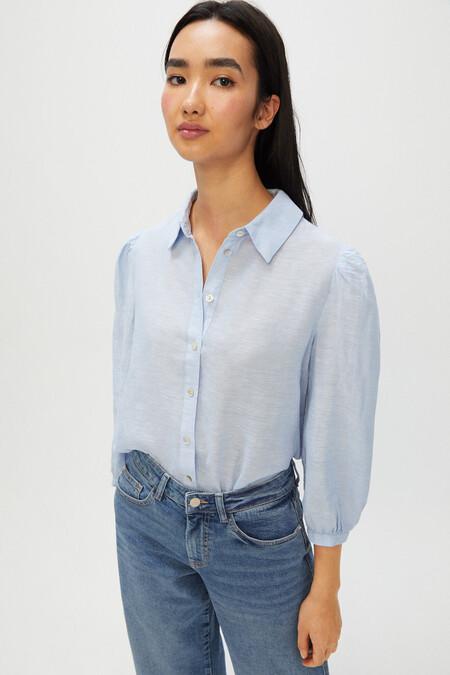 Camisa Lino Cortefiel