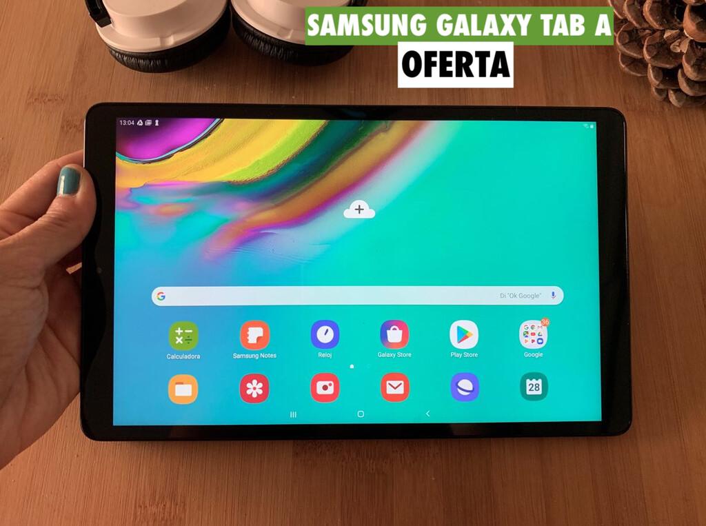 Samsung Galaxy Tab A, una tablet de 10 pulgadas con una autonomía brutal, rebajadísima hoy en Plaza: llévatela por 138 euros con este cupón