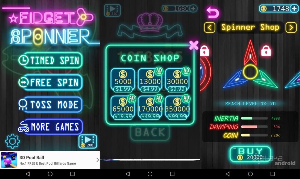 Fidget Spinner Game Mobile