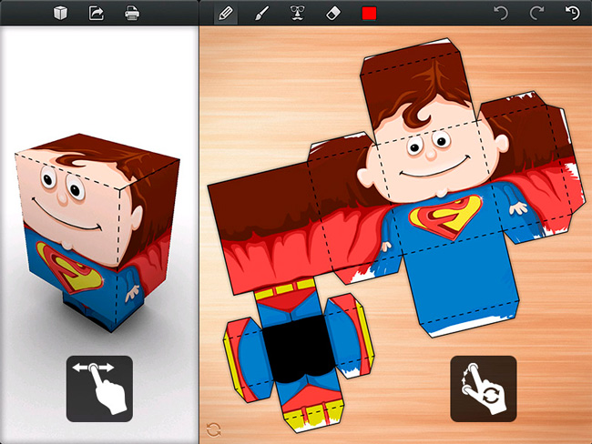 Foldify crea recortables con tu ipad para luego hacer for Crea tu casa 3d