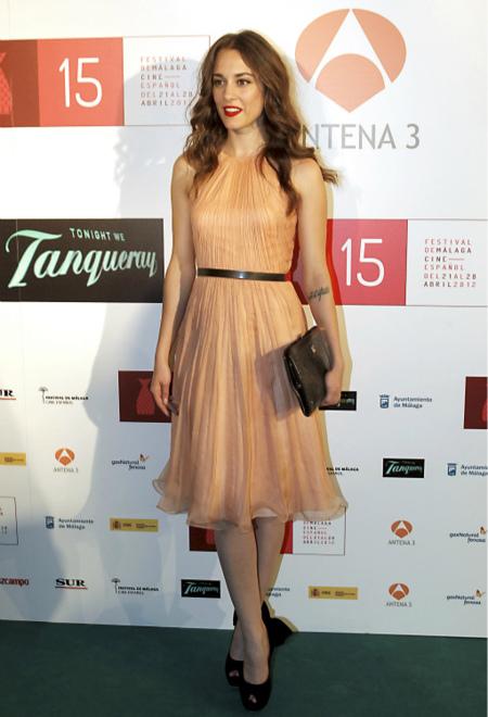 Silvia Alonso en el Festival de Málaga