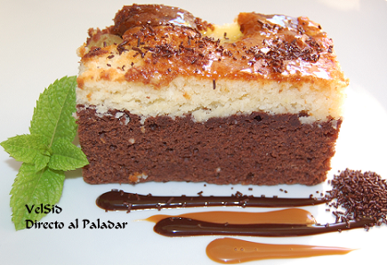 Bizcocho de chocolate, receta
