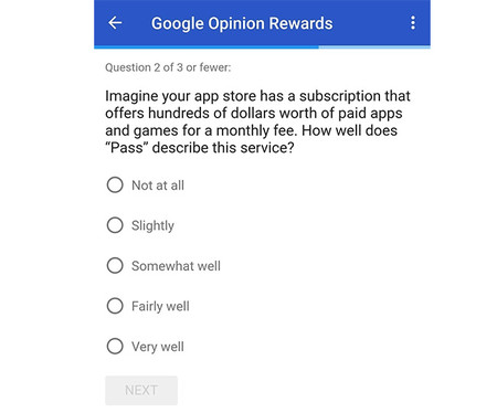 Googleopinion