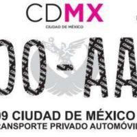¿Estás listo? Así lucen las nuevas placas que portará tu auto, si vives en CDMX