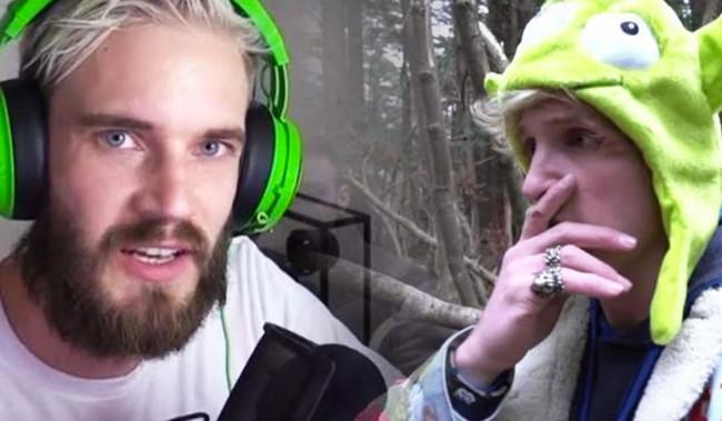 """YouTube """"perdona"""" a Logan Paul y PewDiePie pide el mismo trato"""