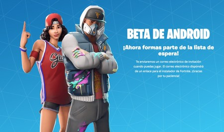 Fortnite Android Registrado