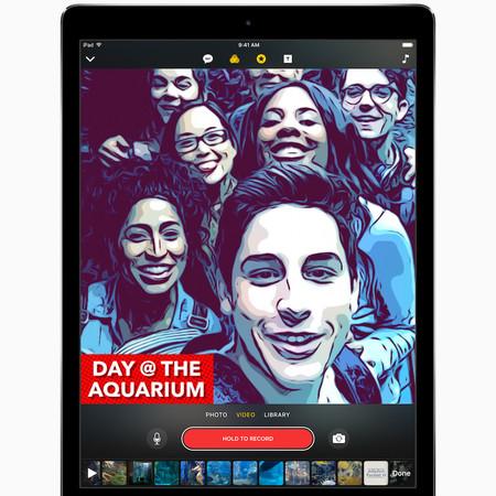 Clips, Apple tiene su propia aplicación de edición de video al estilo de Snapchat e Instagram
