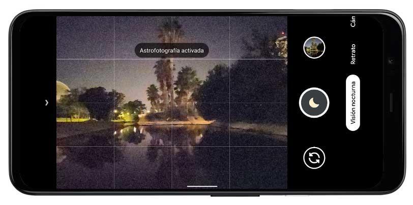 Con esta alcoba de Google® puedes realizar fotos con todos los sensores del teléfono