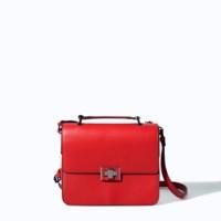 bolso rojo maletín trf