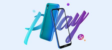 Honor Play 3e: el nuevo modelo de la gama Play es tan comedido en precio como en prestaciones