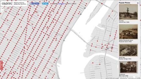 OldNYC o cómo volver al Nueva York de 1880 gracias a este mapa