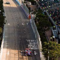 Dominio absoluto de Sam Bird, que sube a lo más alto del ePrix de Hong Kong