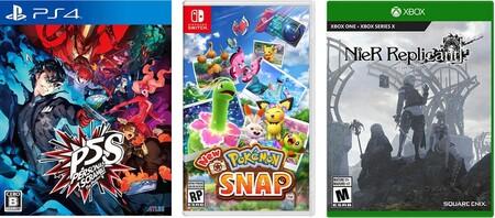 Videojuegos para PS4, Xbox, PS5 y Nintendo Switch en preventa en Amazon México