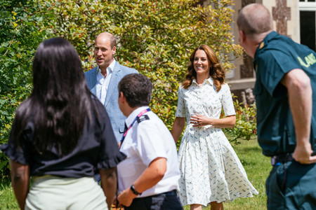 Kate Middleton Print Dress 02